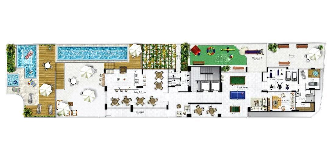 Avenidas Residence Sala De Jantar Dining Room